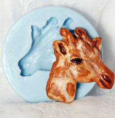 Giraffe Silicone Mold for Polymer Clay Resin Soap by MoldMeShapeMe, $5.50