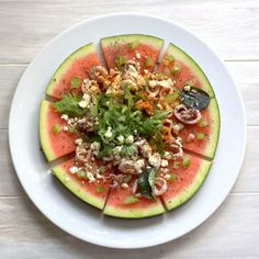 bushcooks kitchen: Wassermelonenpizza - perfektes Sommeressen Avocado Egg, Vegan, Cooking, Breakfast, Food, Dessert, Gluten Free Pizza, Eat Lunch, Fresh