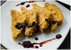 French toast with Blueberry jam