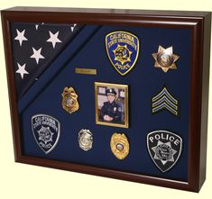 Police Shadow Boxes - Bing images