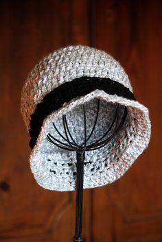 The Broderie: 20's Inspired Flapper Hat