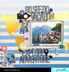 Go.See.Do Vacation Explore Adventure - Scrapbook.com