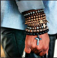 Stack them. ---> FOLLOW US ON PINTEREST for Style Tips, Men's Basics, Men's Essentials on anything, OUR SALES etc... ~ VujuWear