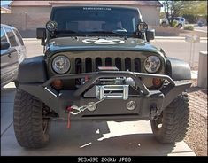 Rampage recovery bumper with winch. LOVE THIS BUMPER!!!!!!!!!!!!!!!!