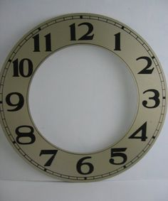 SOLD -  Vintage CLOCK Face Part