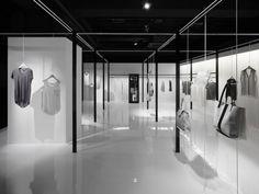 BEIGE,  minimal fashion store interior by Nendo #retail