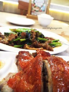 roasted duck at imperial kitchen