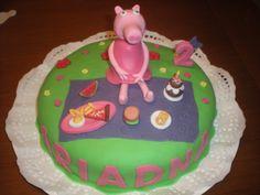 Peppa Pig se va de picnic para celebrar el cumpleaños de Ariadna!!