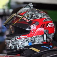 Kevin Harvick RCR final race helmet at Homestead, FL. #NASCAR
