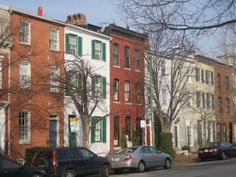 """Federal Style"" baltimore row home....and staple housing choice in and around the city"