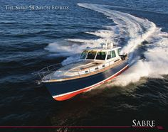 Sabre 54 Salon Express brochure link