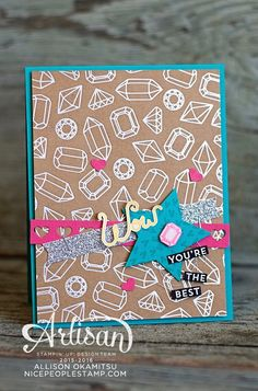 nice people STAMP!: Shine On Designer Series Paper: Stampin' Up! Artisan Blog Hop