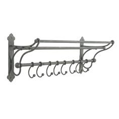 Sophine 8 Hook Coat Rack (A735) with Free Delivery | The Cotswold Company