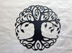 Árbol de la vida por UniquelyIron en Etsy