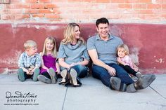 A great family! Urban family photo session in downtown Tucson, Arizona just enjoying the moment and each other - just the way I like my sessions to be - genuine moments and real expressions. www.wondertimephoto.com