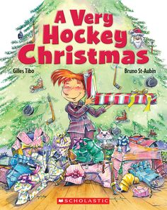 All Nicholas wants for Christmas is . . . everything hockey!  Nicholas can hardly contain his excitement leading up to Christmas. There's only one thing on his wish list: hockey gear!  When the big day arrives, Nicholas is ecstatic to discover that he got what he asked for! Only — uh oh — nothing is quite right . . .  When Nicholas realizes he's not the only one with this problem, he has a big one-size-fits-all idea to save the day.