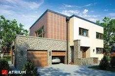 Projekt Cynamon II - elewacja domu