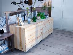 Ivar two drawer units