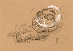 "Gorgeous Miyazaki ""Morning Strolls"" artworkby Martin Hsu - Yahoo Movies UK"