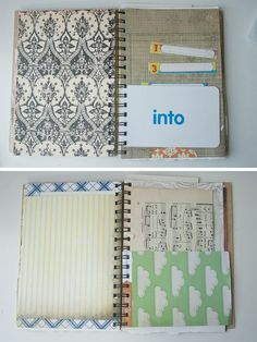 Make a spiral bound journal from scratch using ther Bind-it-All machine and papers you already have in your stash.