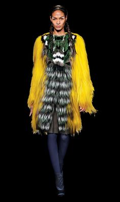 Fall 2012 Trends  Colored Fur | Fendi    Fendi
