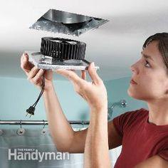 Fix a Noisy Bathroom Fan