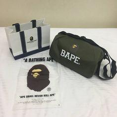 2bfa632bf43a Bape Small Gym Duffle Bag. Bape Bape Small Gym Duffle Bag Size one size -  Bags   Luggage for Sale - Grailed