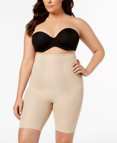 bc973e9d2b Spanx Oncore Open-Bust Mid-Thigh Torsette in 2019