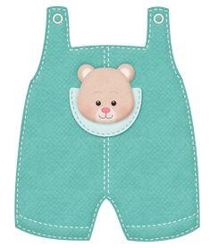 TEDDY BEAR OVERALLS *