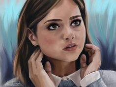 """Let me be brave"" - Clara Oswald. Took a week to finish this... Ahh so happy its done. +++++++++++++++++++++++++ DW"