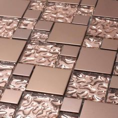 Giorbello Copper Goddess 10.78 square Foot Glass Tiles