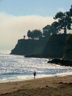 New Brighton Beach Capitola Capitola California, Capitola Beach, Places In California, California Dreamin', New Brighton Beach, Places To Travel, Places To See, Santa Cruz California, Monterey Bay
