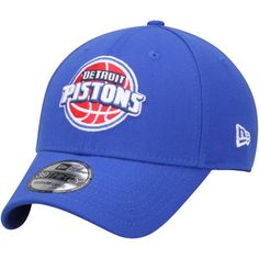 low priced 44207 ad68e Men s New Era Blue Detroit Pistons Team Classic 39THIRTY Flex Hat