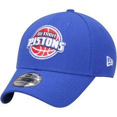 Detroit Pistons New Era Team Classic 39THIRTY Flex Hat - Blue