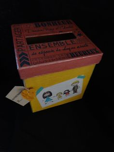 Boite à Bonheur modèle Pep's par FeePlaisir sur Etsy, €25.00