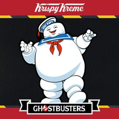 I found The Stay Puft Marshmallow Man near New York . Is there something strange in YOUR neighborhood? #Ghostbusters #KrispyKreme http://krispyskremes.com