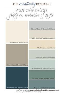 exterior colors. light gray: roof. red: house. dark gray: door