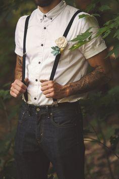 Groomsman White Shir