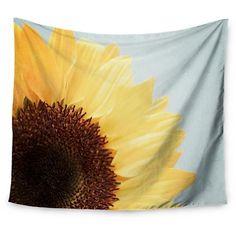 "Sunflower Susannah Tucker Sunshine Wall Tapestry (51""x60"") - Kess InHouse : Target"