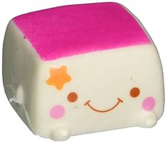 Generic Soft Squishy Chinese Tofu Adorable Expression Smile Face Fun Toy >>> You can get more details by clicking on the image. (Note:Amazon affiliate link)