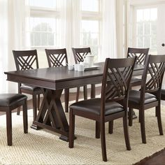 Adrian Dining Table by Steve Silver
