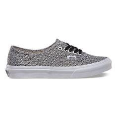 low cost 152f0 ccea4 Geometric Authentic Slim   Shop Shoes at Vans Zapatos Lindos, Zapatillas,  Vestimentas, Tenis