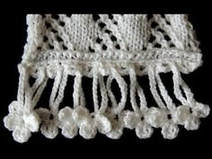 Crochet : Borde # 10 - YouTube