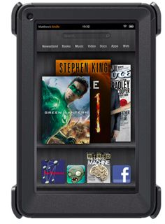 Otterbox Kindle Fire case - For the clumsy tablet owners among us. Ahem. Cough.