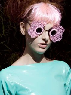 #T stage to go up beautiful pink.  #Fashion #New #Nice #Sunglasses  www.2dayslook.com