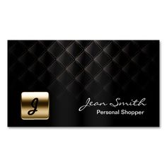 Luxury Gold Emblem Dark Personal Shopper Double-Sided Standard Business Cards (Pack Of 100). This great business card design is available for customization. All text style, colors, sizes can be modified to fit your needs. Just click the image to learn more!