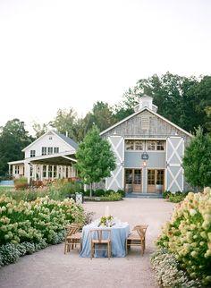 Elegant Outdoor Wedding Inspiration via oncewed.com