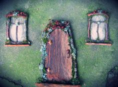 Faery Door and Windows by pandorajane on Etsy