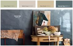 Expression Palette - love this romantic color combo spring 2014 color forecast Plascon Paint Colours, Paint Colors, Color Inspiration, Color Combinations, New Homes, Tapestry, Painting, Lounge, Woodstock