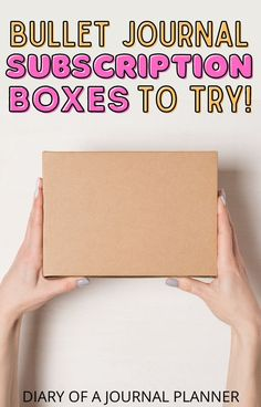 The best stationery subscription boxes to gift all the bullet journal/planner lovers in your life! #bulletjournalsupplies #bulletjournalboxes #stationery Bullet Journal Boxes, Dotted Bullet Journal, Bullet Journal Printables, Custom Stationery, Stationery Set, Personalized Stationery, Bullet Journal For Beginners, Greeting Card Box, Japanese Stationery